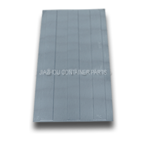 three square wave roof panel